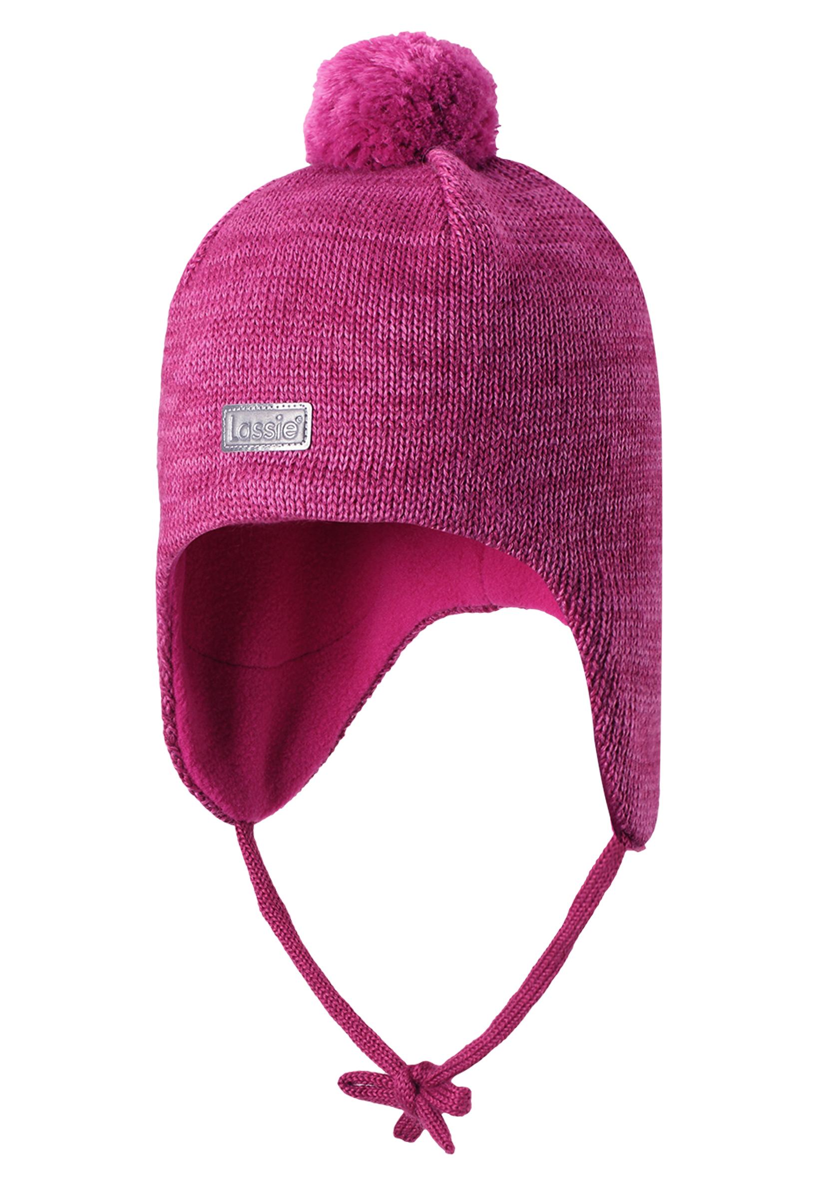 Шапка для девочки Reima Розовая vugga флисовая розовая