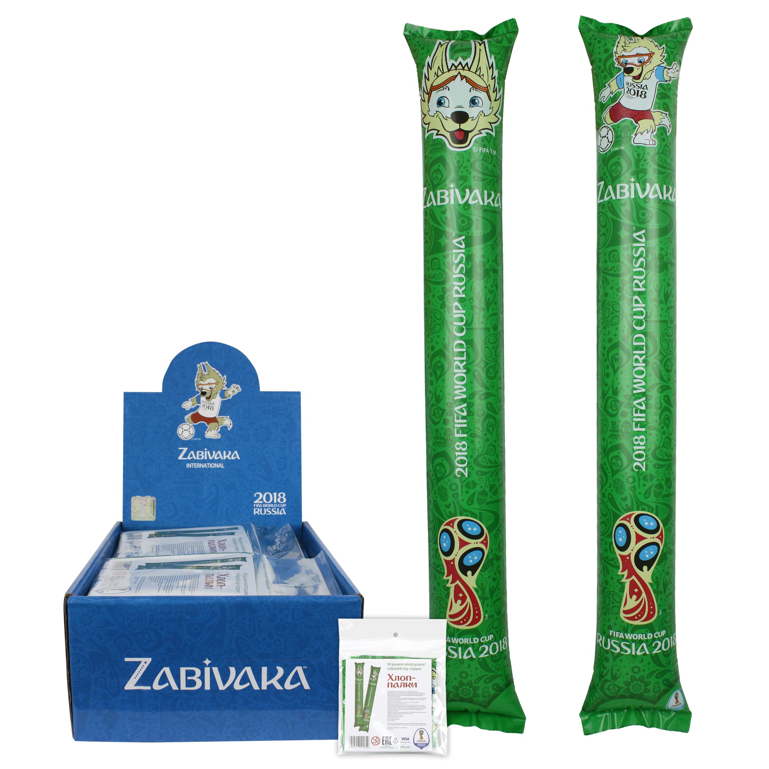 Надувная игрушка-колотушка FIFA FIFA «Хлоп-палки» 2 шт. 60х10 см цена 2017