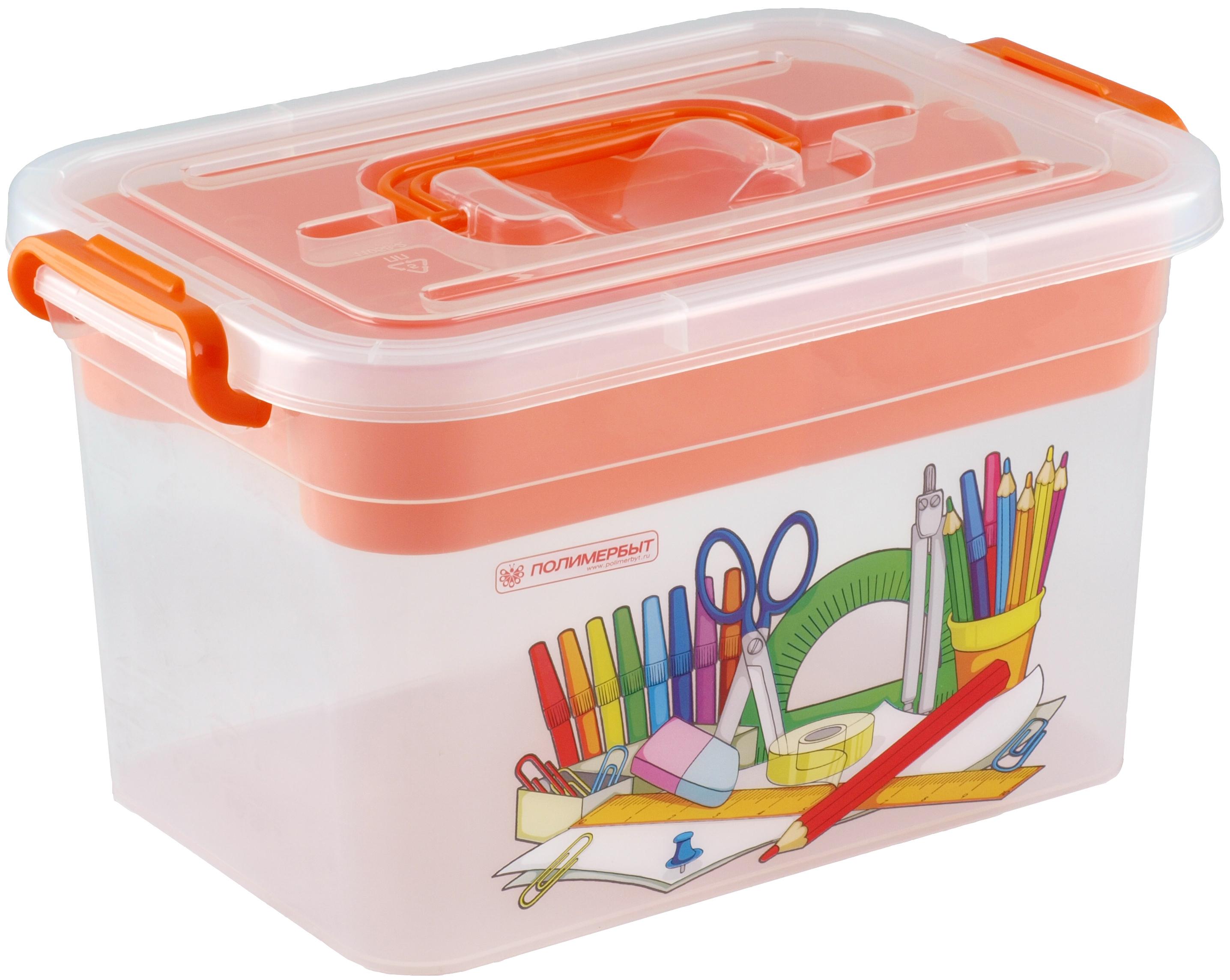 Хранение игрушек ПолимерБыт Контейнер для хранения