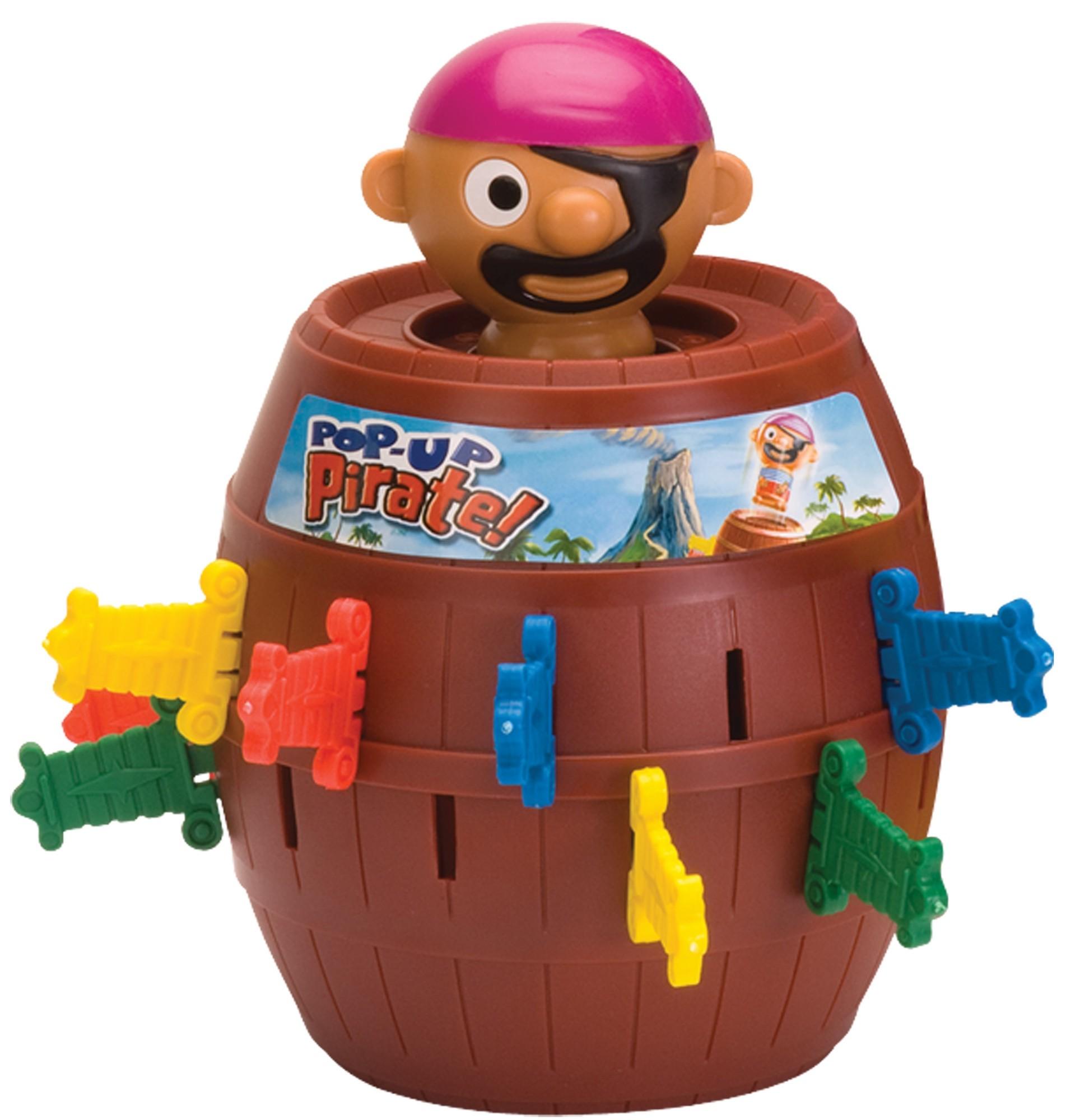 Детские настольные игры Tomy Пират в бочке