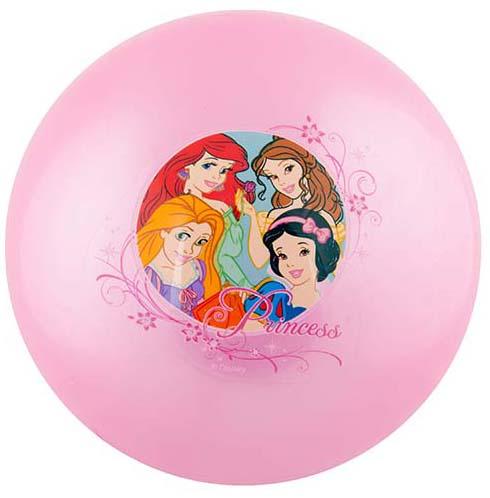 Мяч Играем вместе Принцессы играем вместе тесто для лепки принцессы дисней неоновое 4 цвета