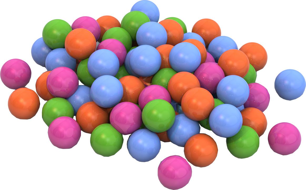 сухие бассейны нордпласт шары для сухого бассейна 100 шт Шарики для сухих бассейнов Нордпласт 40 шт.