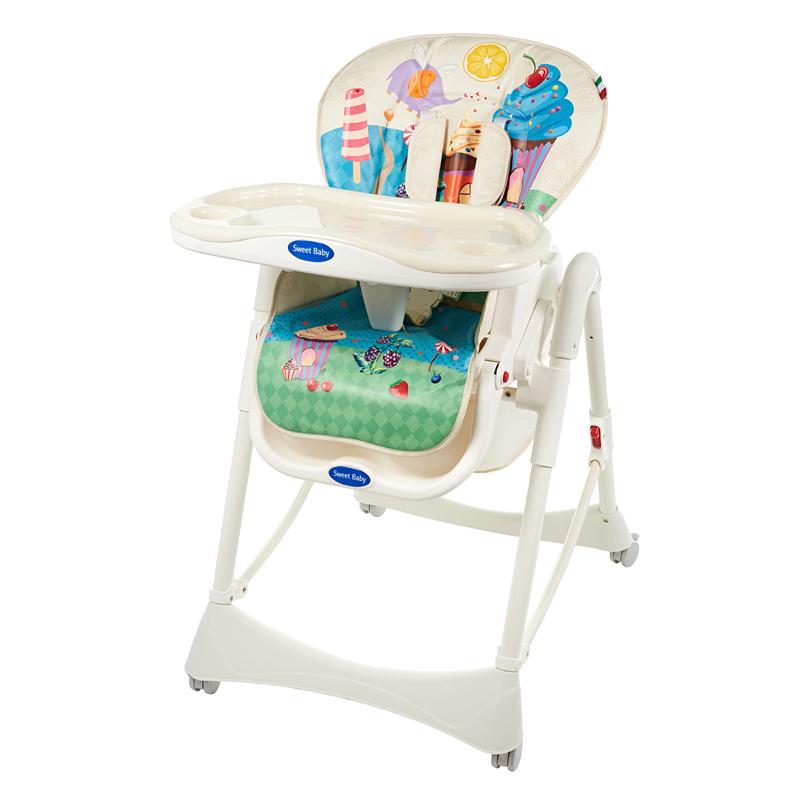 Стульчики для кормления Sweet Baby Стульчик для кормления Sweet Baby «Candy Land» стульчик для кормления sweet baby candy land