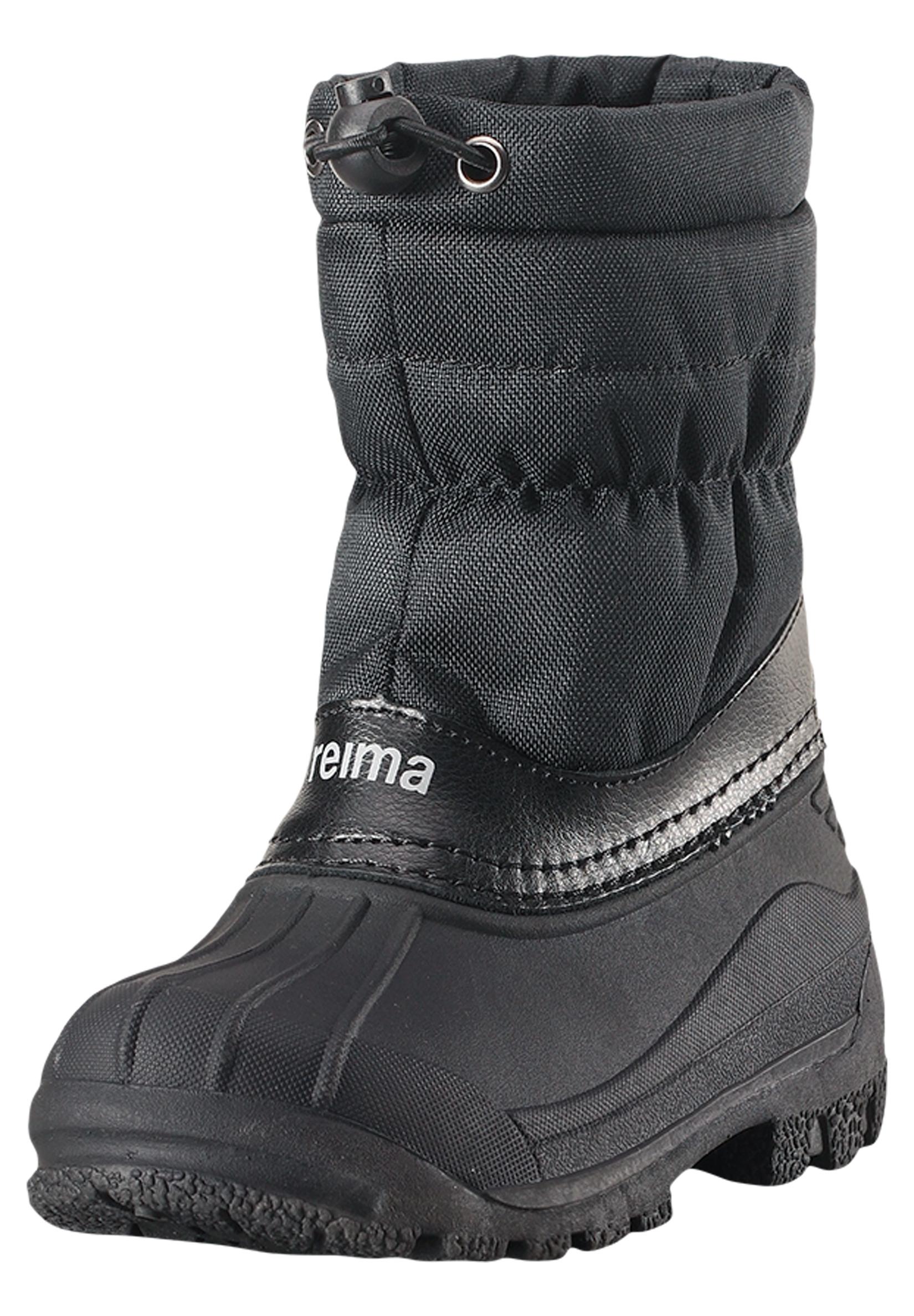 Ботинки и полуботинки Reima Ботинки для мальчика Reima, черные ботинки для мальчика reima черные