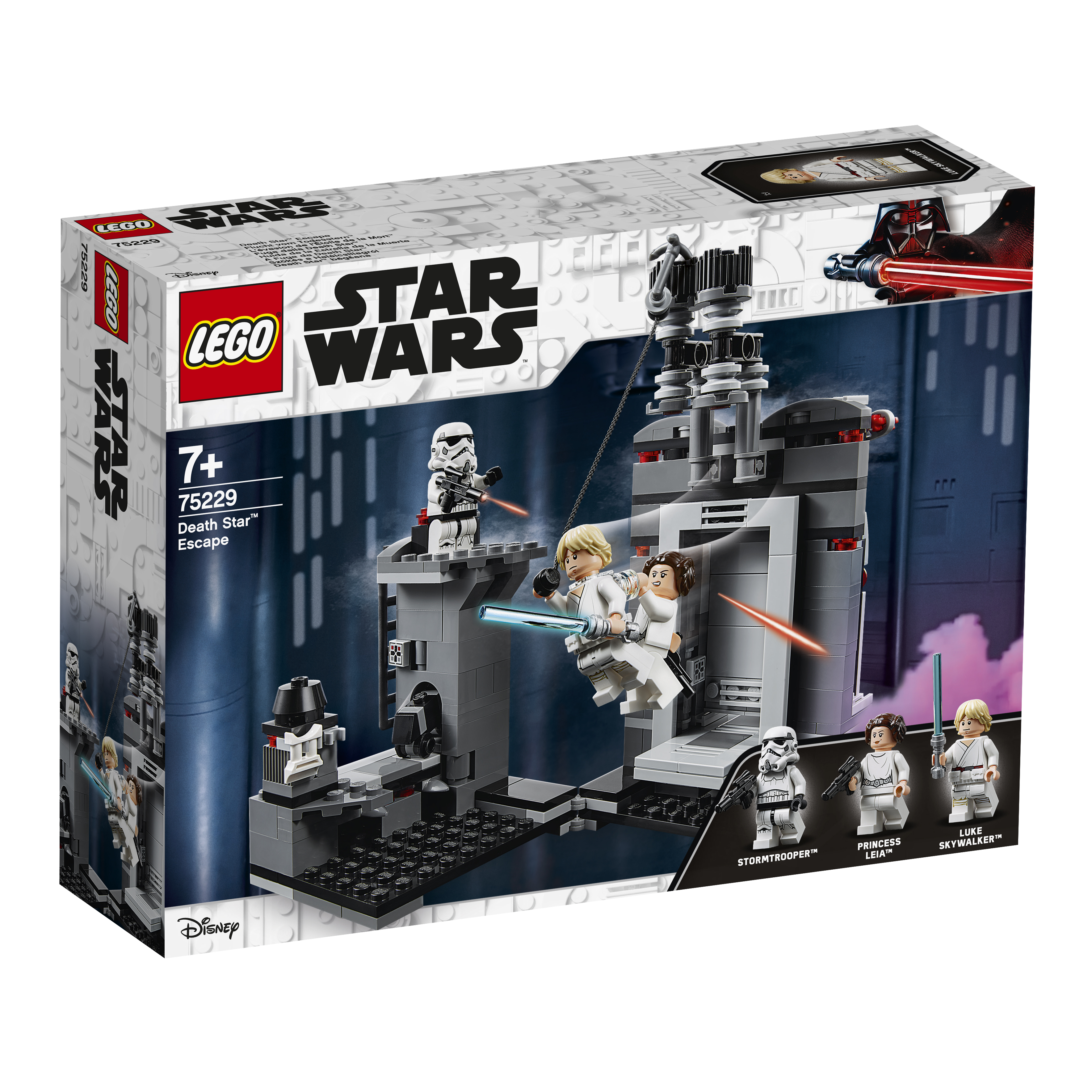 Конструктор LEGO Star Wars 75229 Побег со «Звезды смерти»
