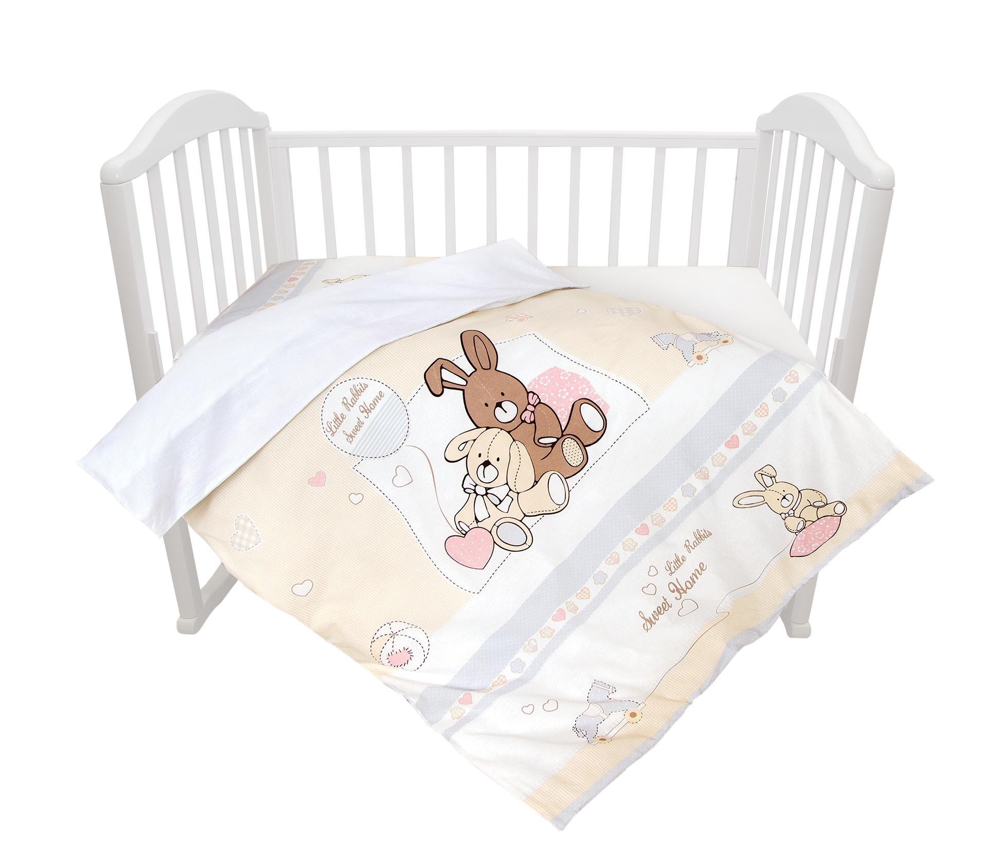 Комплект постельного белья Baby Nice Милый дом комплект постельного белья детский baby nice луны звездочки цвет салатовый