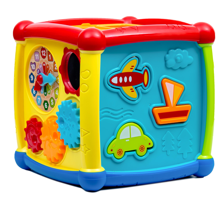Обучающая игрушка Huggeland Куб
