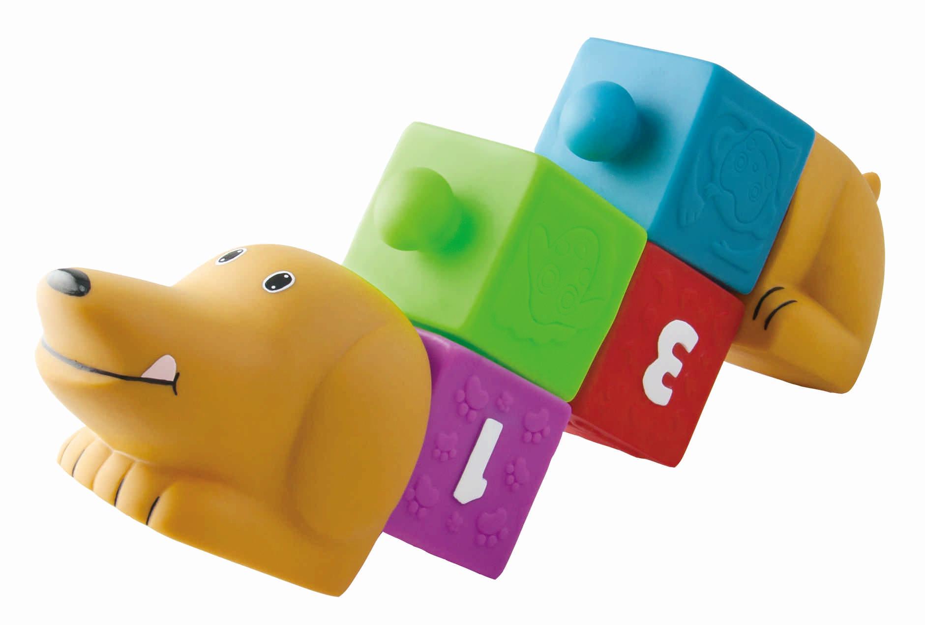 Развивающие игрушки Little Hero Собачка с кубиками мягкие игрушки maxitoys собачка зиночка в платье