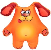 Мягкие игрушки СмолТойс Подушка антистресс «Щенок» СмолТойс подушки для малыша natures подушка мята антистресс 50х68