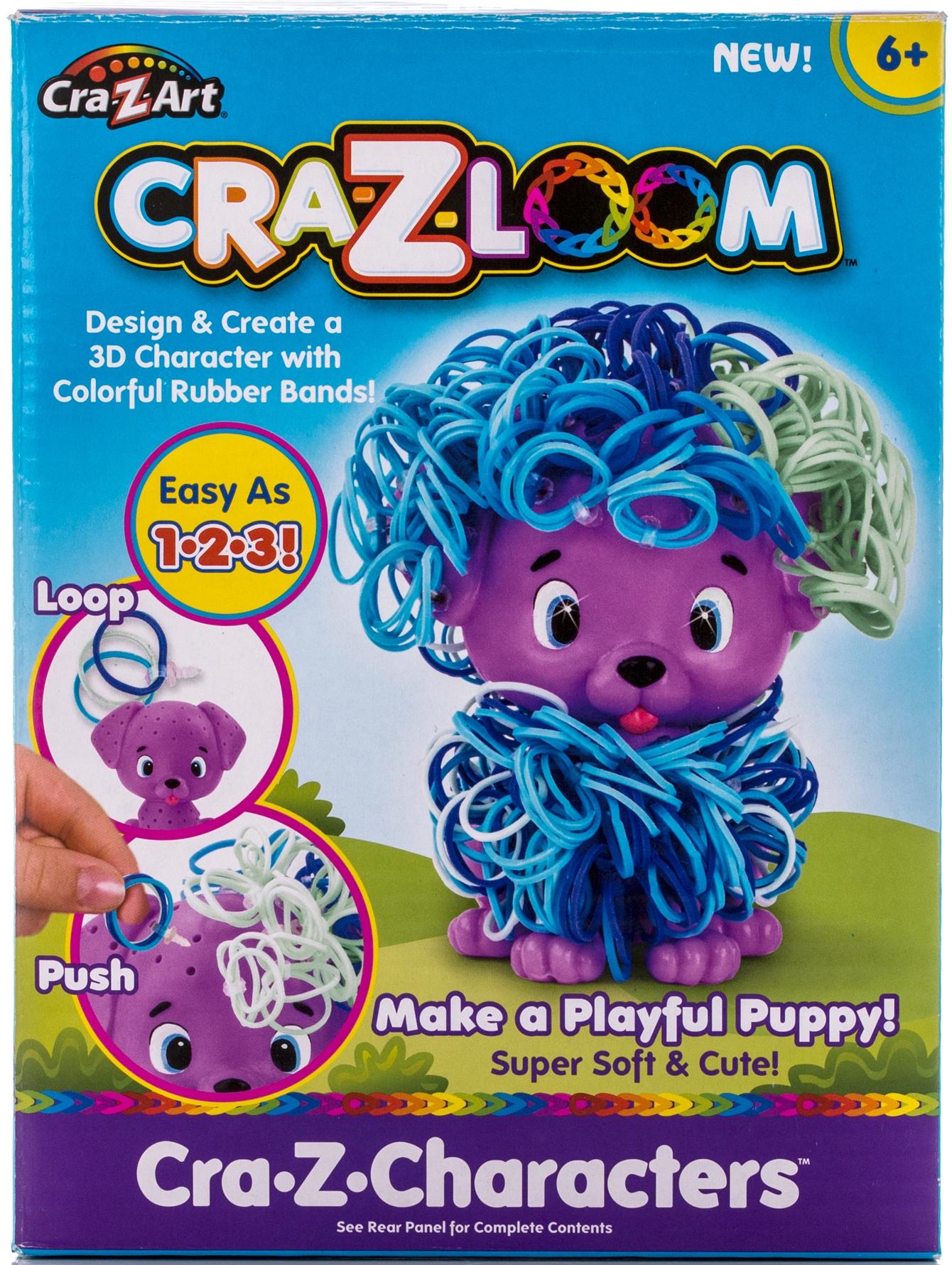 Наборы для творчества Cra-Z-Loom Набор для творчества Cra-z-Loom «Щенок» набор резиночек для плетения 1 toy winx т58328