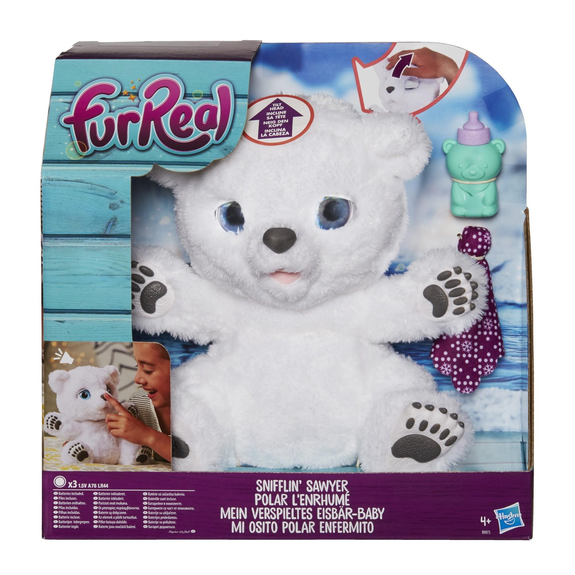 Интерактивные животные Furreal Friends Интерактивная игрушка Furreal Friends «Полярный медвежонок»