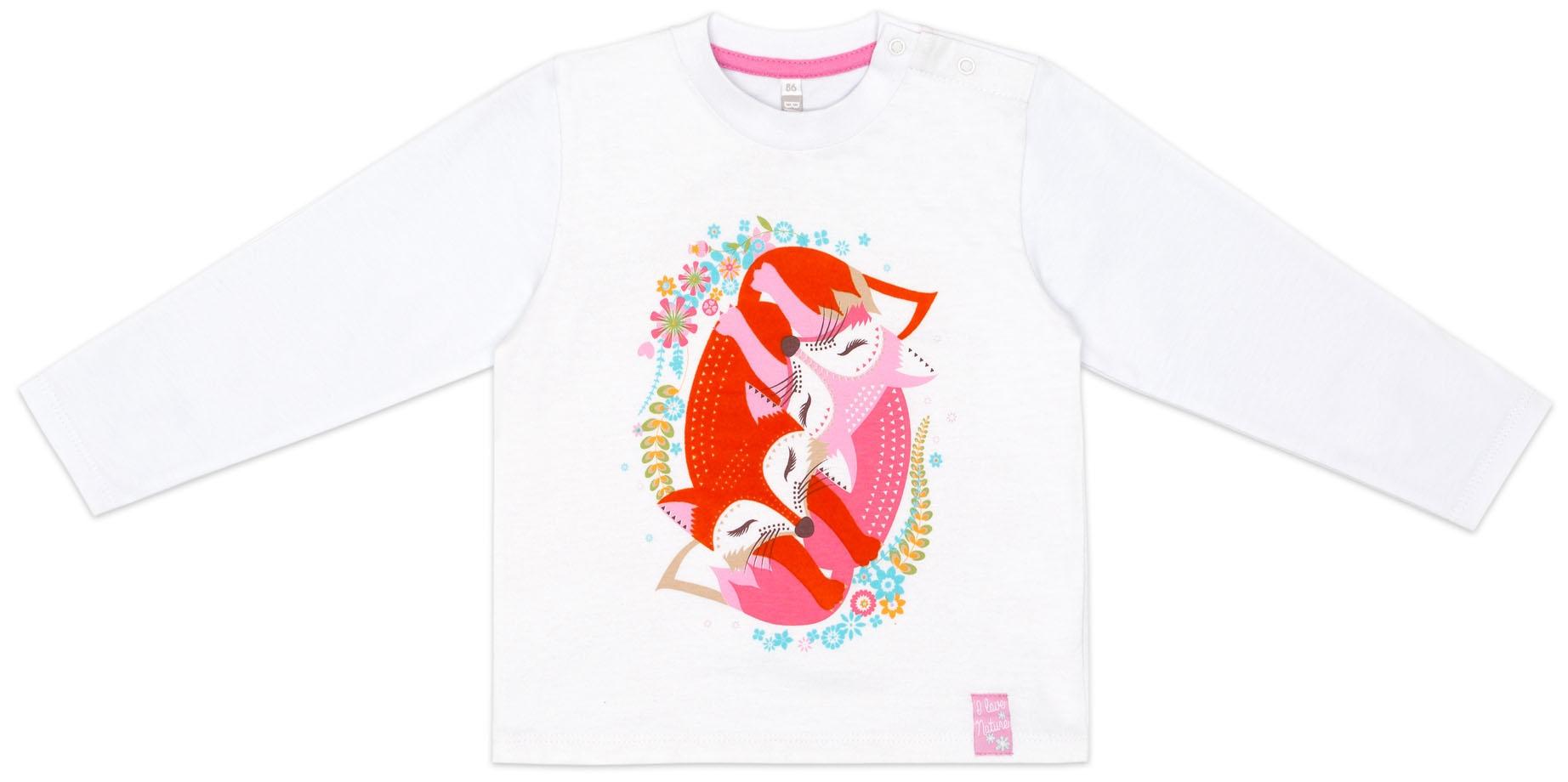 Футболка для девочки Barkito Сестрички Лисички футболки barkito w18g3007j 5