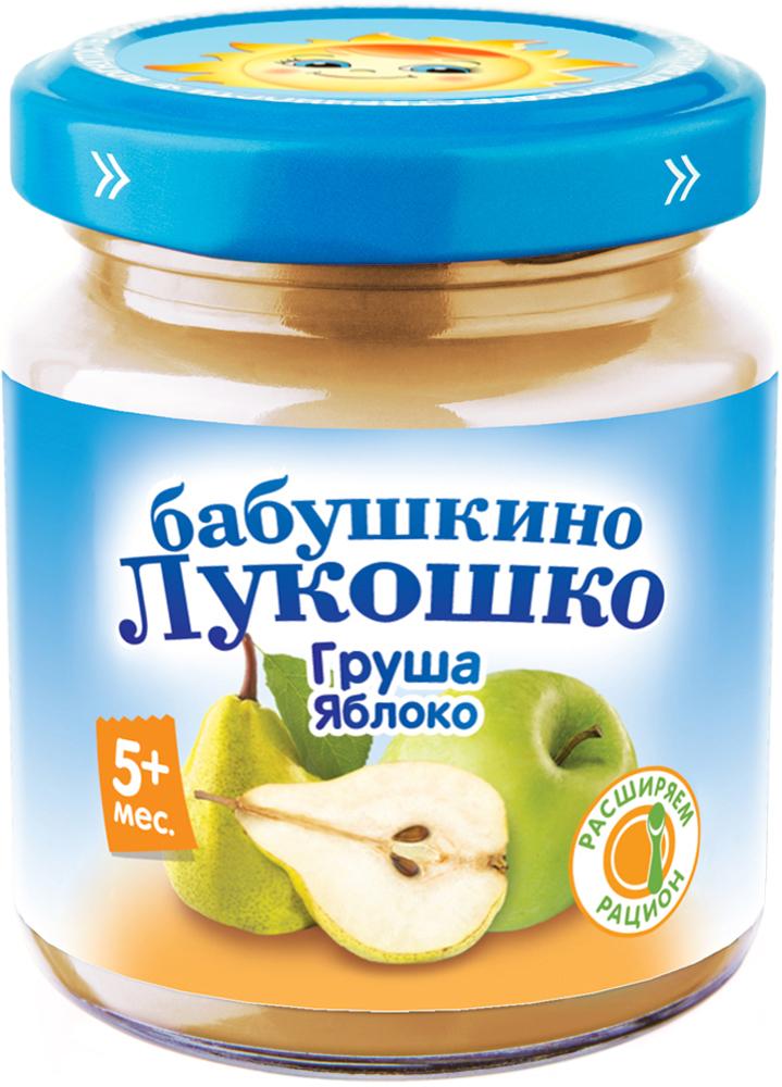 Фото - Пюре Бабушкино лукошко Бабушкино Лукошко Груша-яблоко с 5 мес. 100 г пюре heinz organic яблоко и груша с 5 мес 80 г