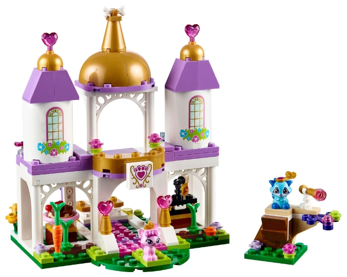 Конструктор LEGO Disney Princess 41142 Королевские питомцы: замок lego disney princess сказочный замок спящей красавицы 41152