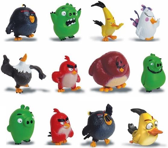 Фигурки животных Angry Birds Angry Birds (сердитая птичка) angry birds фигурка chuck