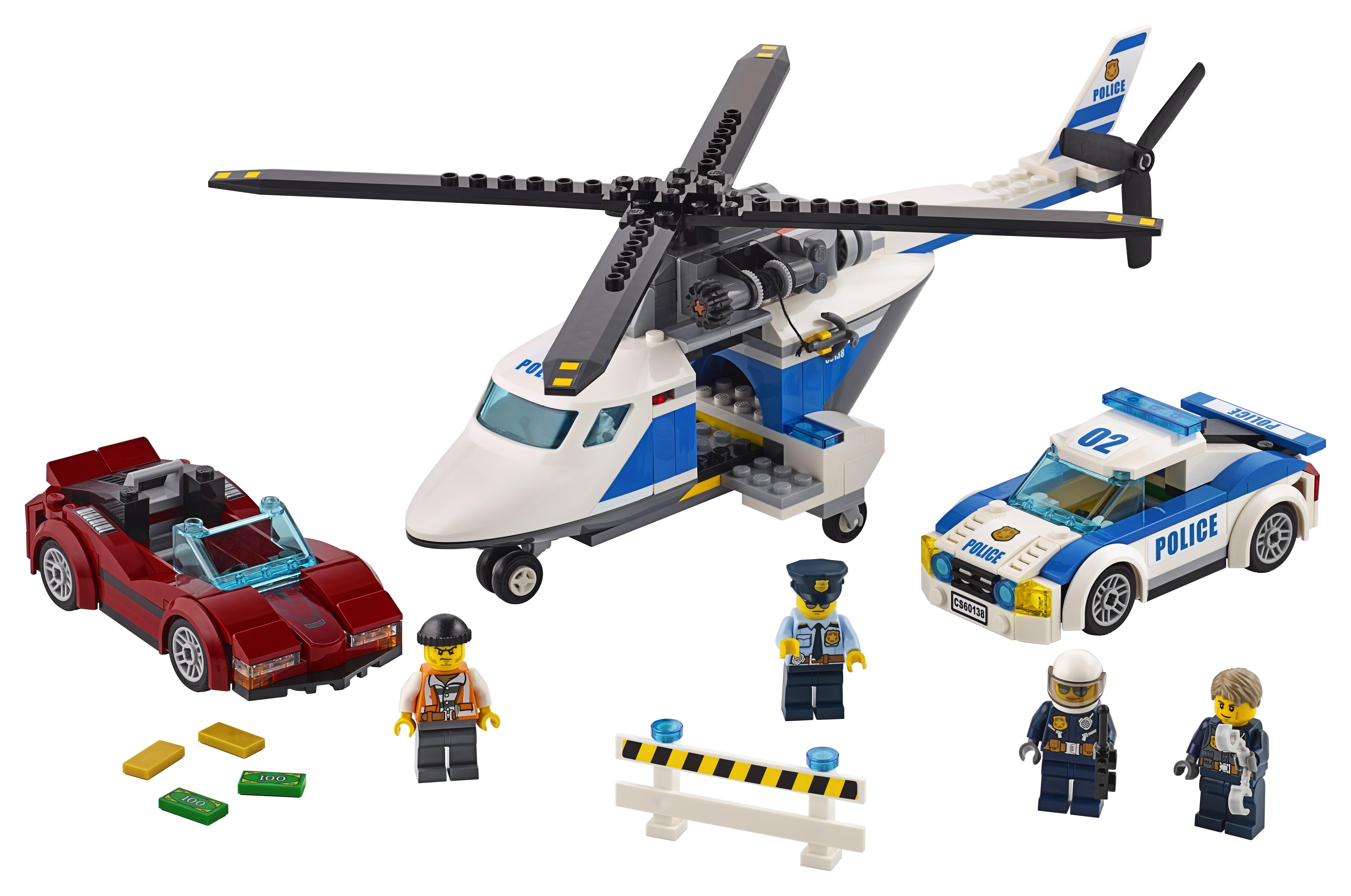 Купить со скидкой Конструктор LEGO City 60138 Стремительная погоня