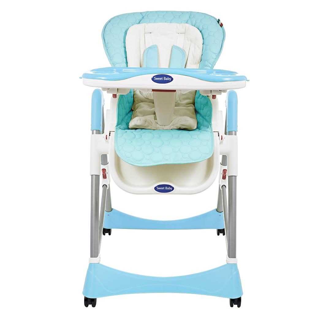 Купить Стульчик для кормления, Royal Classic Blue, 1шт., Sweet Baby 339779, Китай, azure