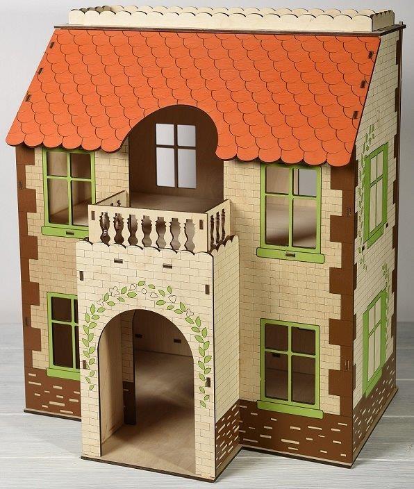Кукольные домики ЯиГрушка Домик дом для кукол яигрушка маленькая мечта 59831