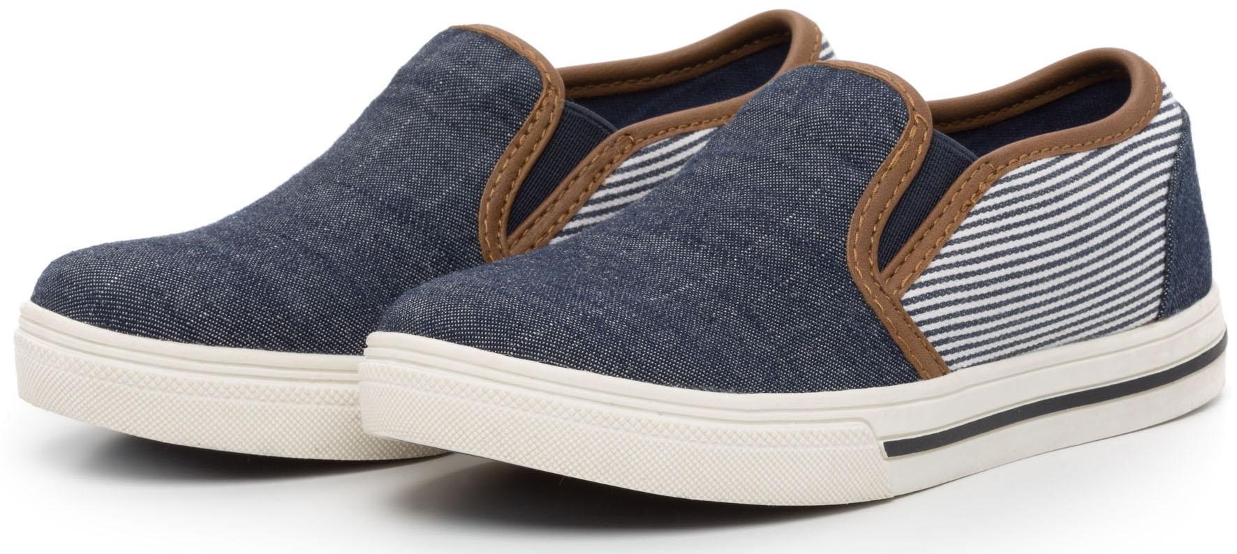 Кроссовки и кеды Barkito Полуботинки для мальчика Barkito, темно-синие converse синие текстильные кроссовки