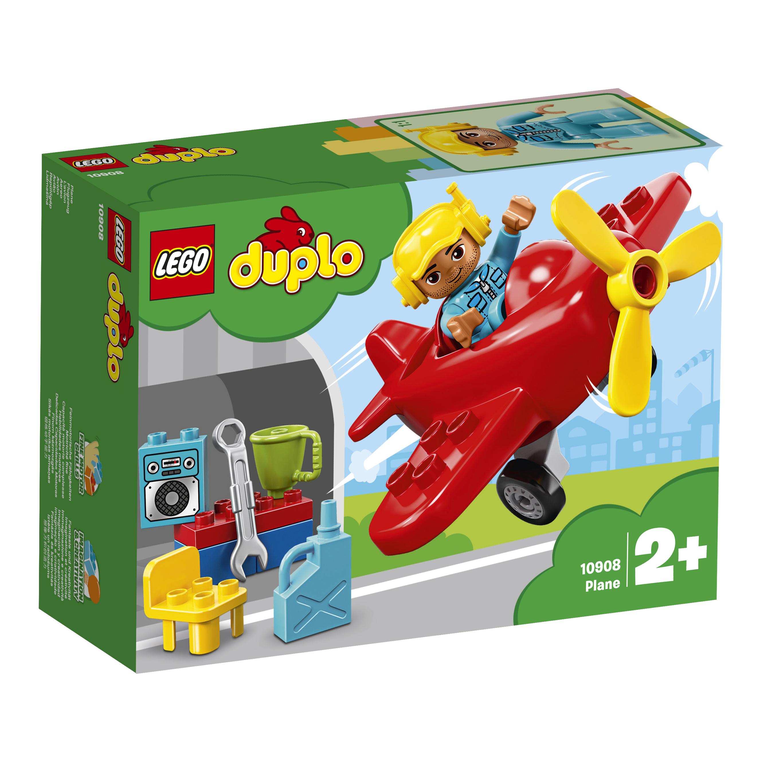 LEGO DUPLO LEGO Town 10908 Самолёт lego duplo конструктор гоночный автомобиль 10589