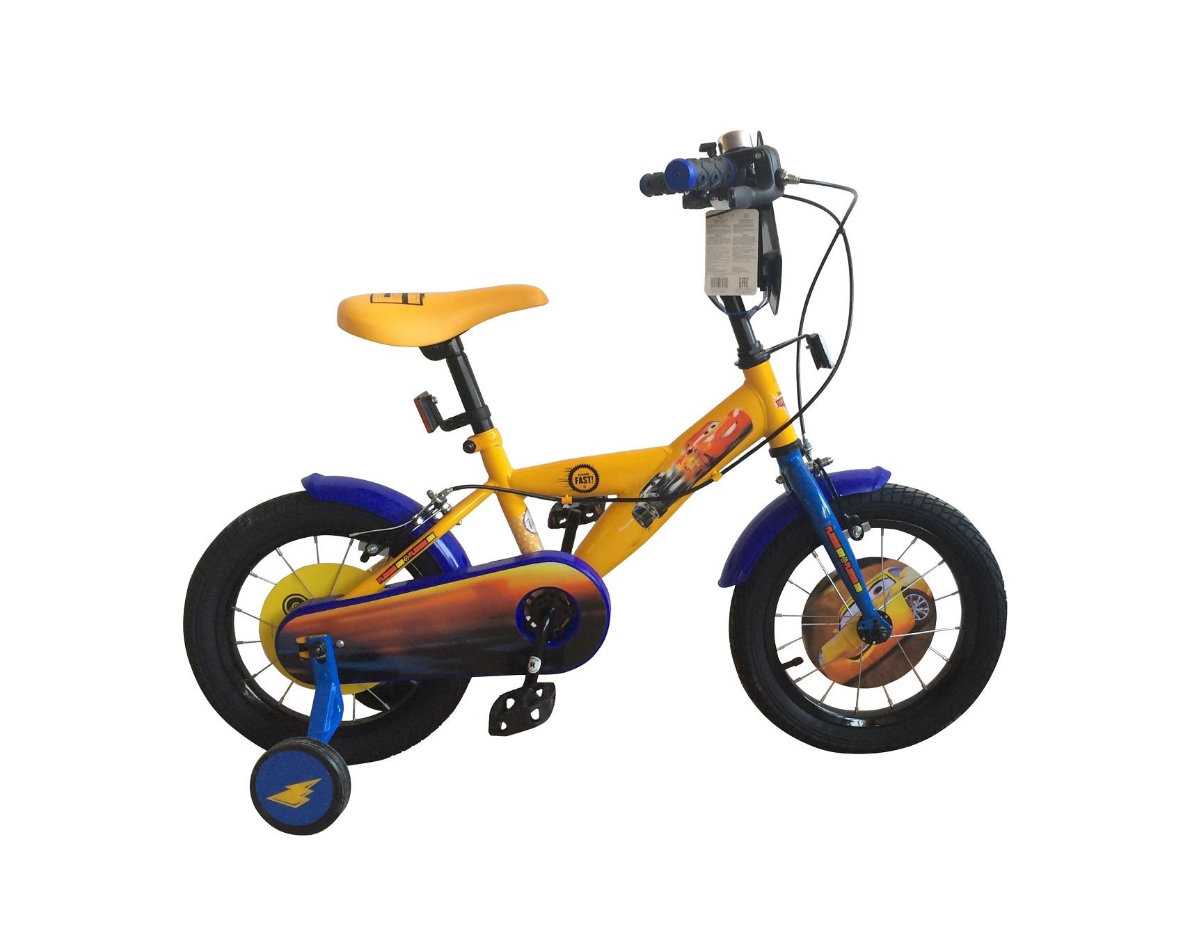 Велосипеды двухколесные Disney cars ВН14166К