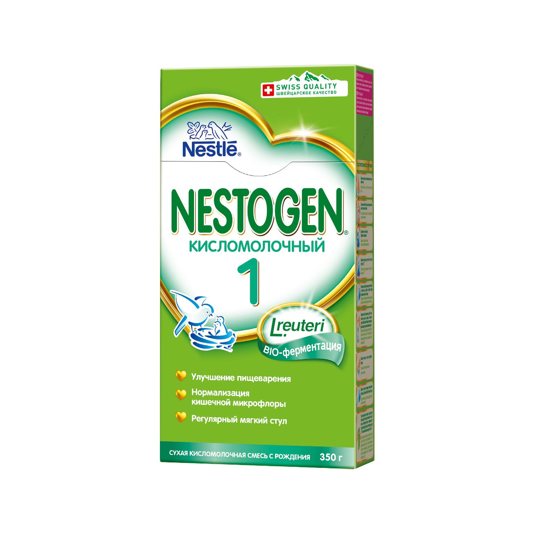 Смесь Nestogen Кисломолочный 1 с рождения 350 г nestogen 1 смесь молочная с рождения 700 г
