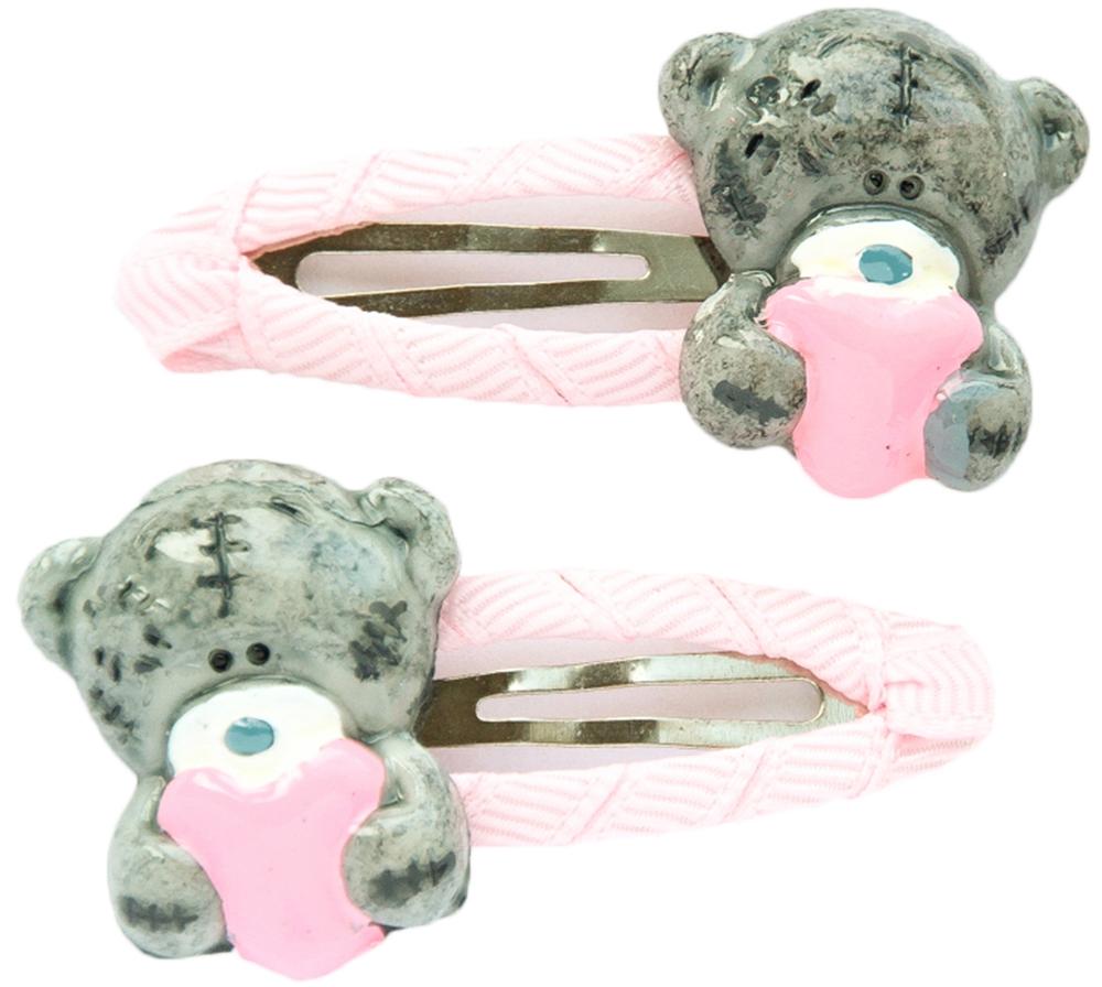 Украшения Me to you Заколка Me To You «Мишка» розовый с серым лонгслив printio мишка me to you