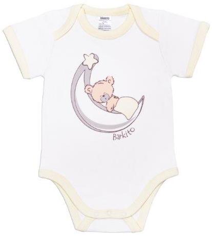 Первые вещи новорожденного Barkito с коротким рукавом Сладкие сны боди с длинным рукавом сладкие сны barkito белый с рисунком белый 2 шт