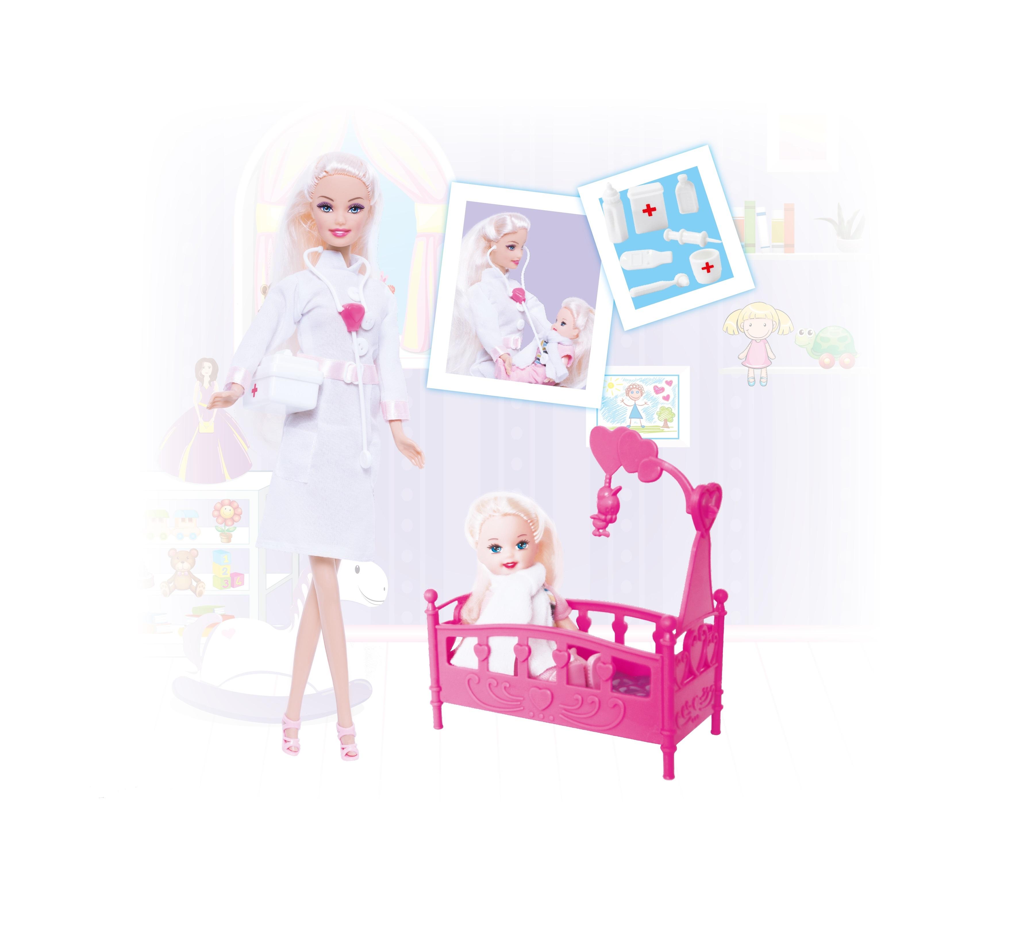 Игровой набор ToysLab Кукла Ася. Детский доктор набор кукла ася джинсовая коллекция 28 см дизайн 1 toyslab ася