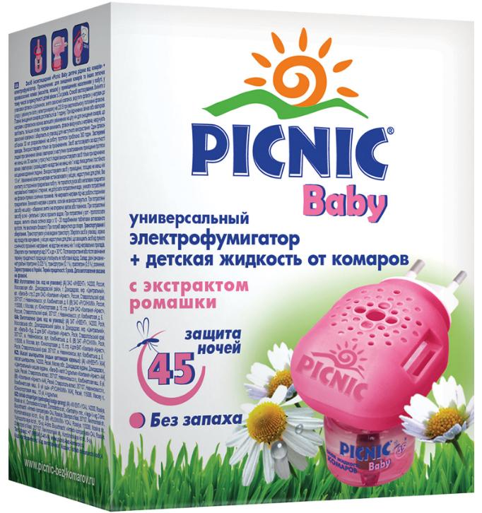 Средства от насекомых Picnic Baby средства от насекомых picnic крем репеллентный от комаров 40 мл