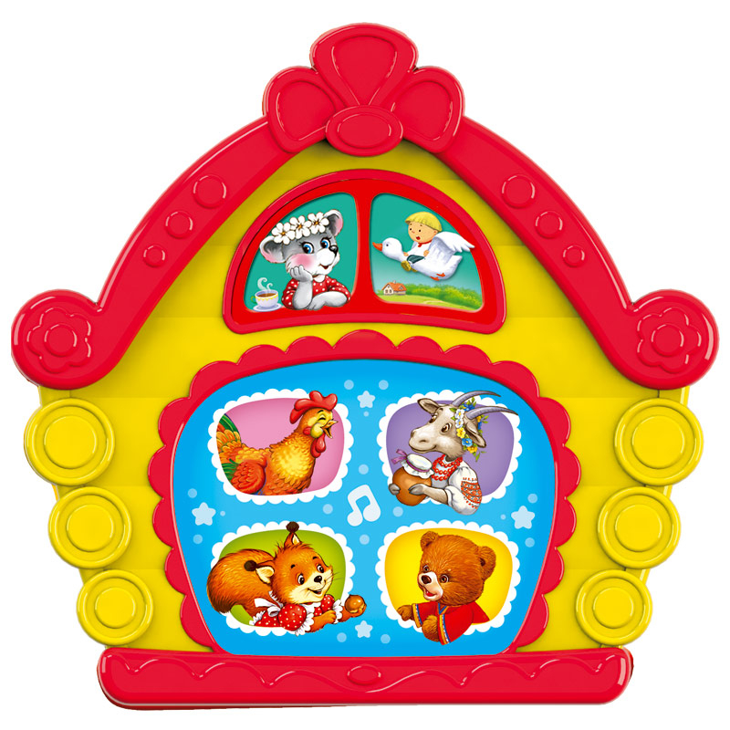 Развивающая игрушка Азбукварик Любимая сказочка Теремок говорящие книжки азбукварик любимая сказочка колобок