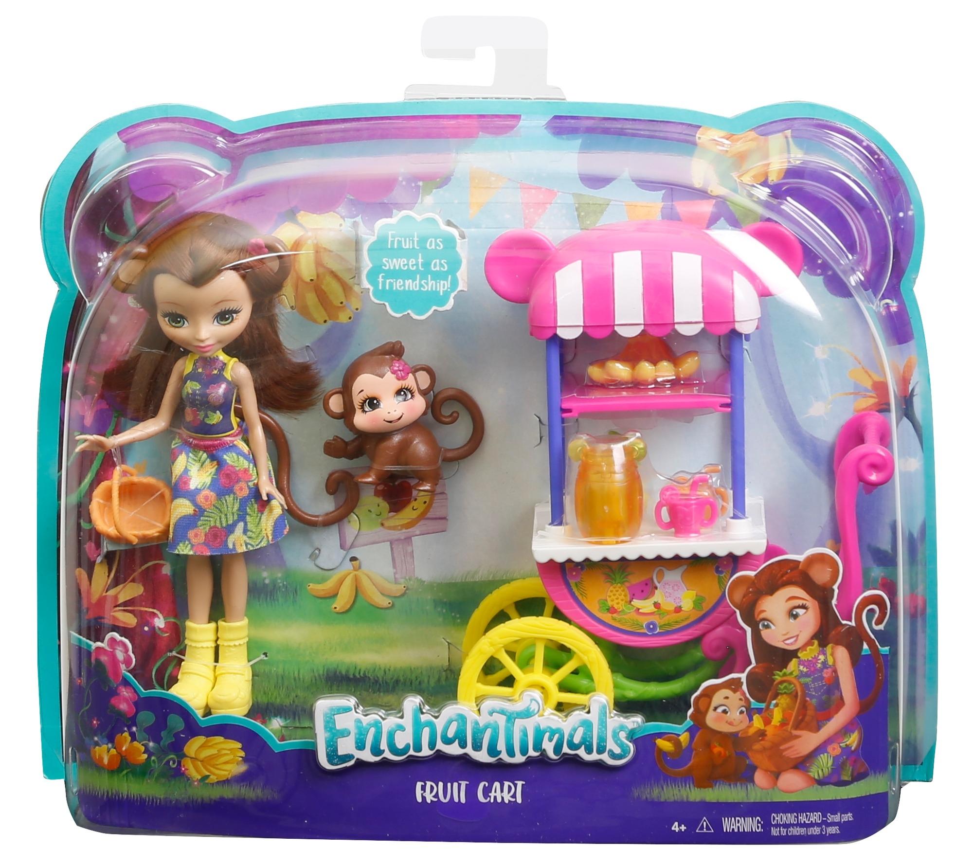 Фото - Игровой набор Mattel Кукла со зверюшкой и транспортным средством enchantimals игровой набор кукла со зверюшкой fnh22 fjj21