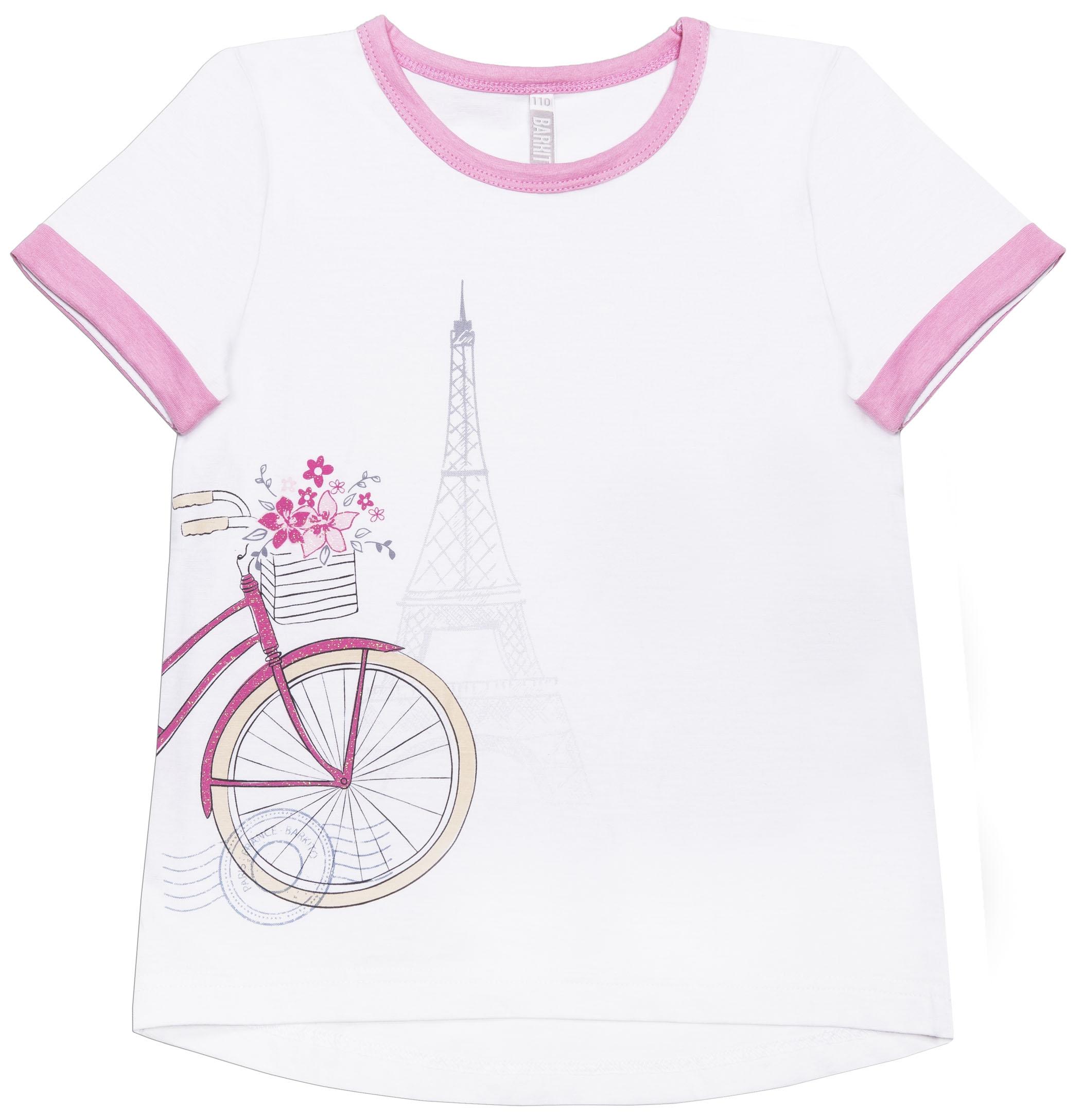 Футболки и топы Barkito Каникулы в Париже белая топы и футболки