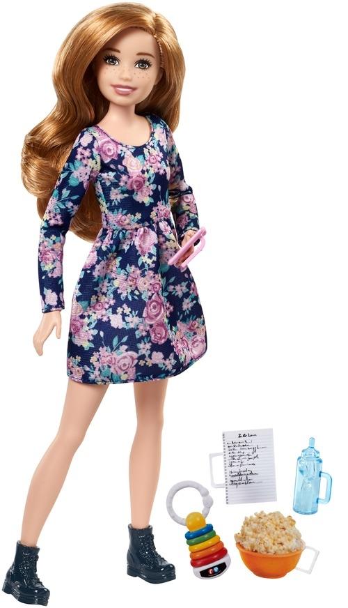 Barbie Barbie Кукла Barbie «Няни» в асс. кукла barbie 2014 principessa