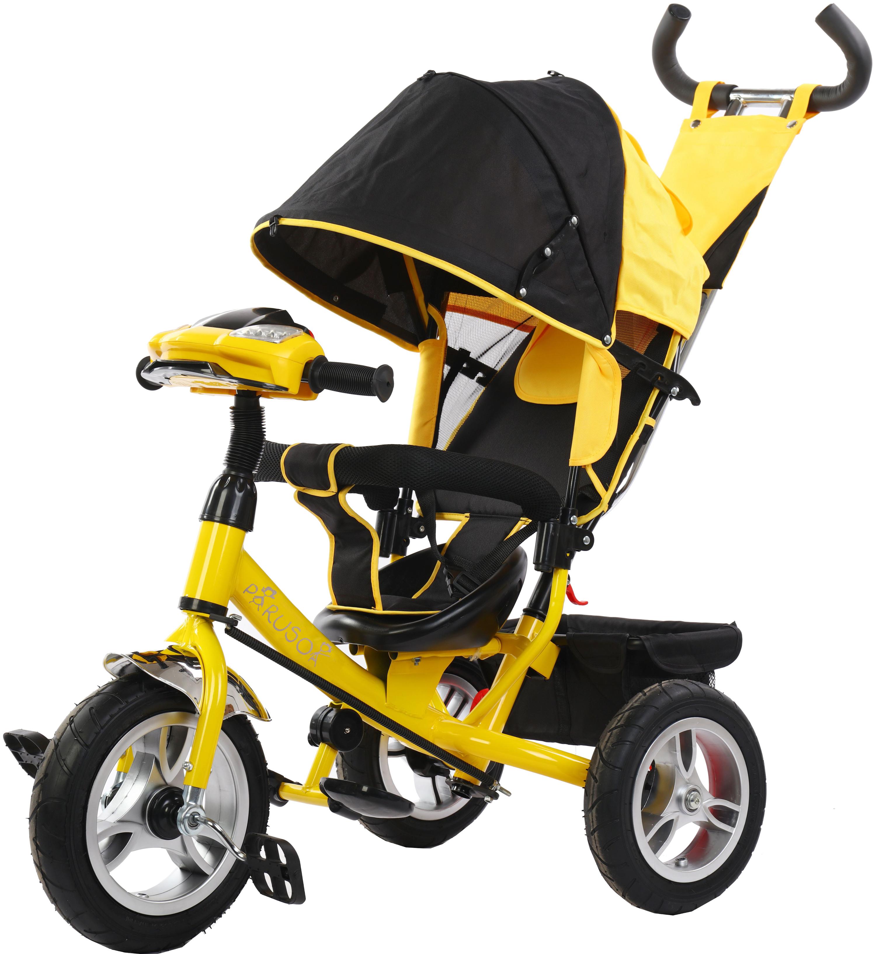 Детские трехколесные велосипеды Parusok YLT6588-B_YELLOW