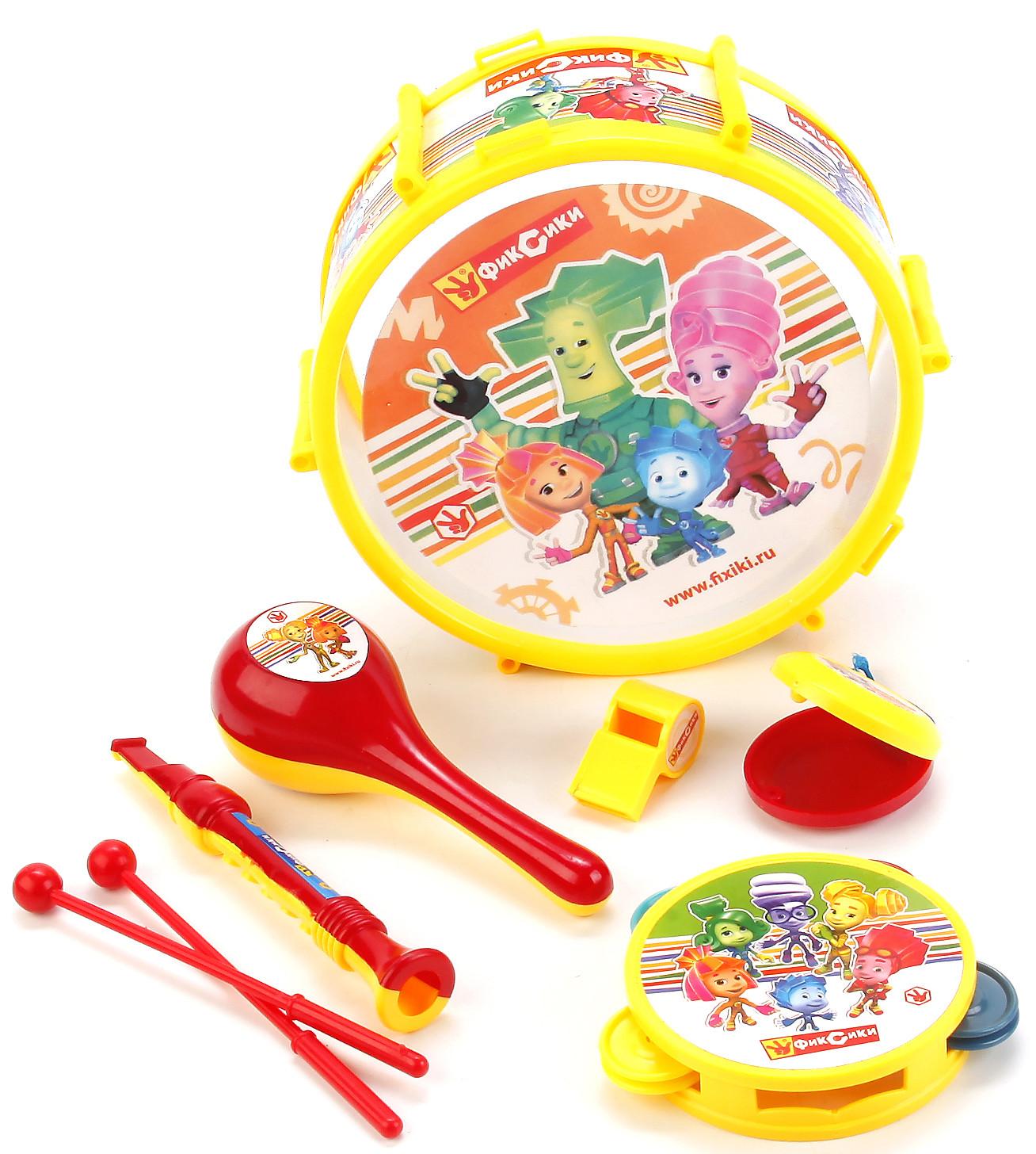 Набор музыкальных инструментов Играем вместе Фиксики