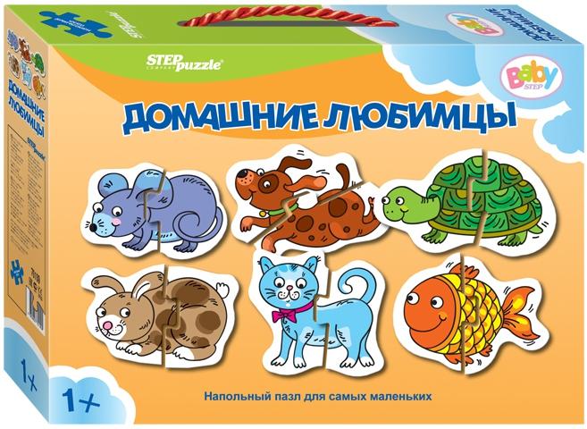 Пазлы Step Puzzle Пазл напольный Step Puzzle малый в ассортименте пазлы step puzzle 73058 дружная семейка