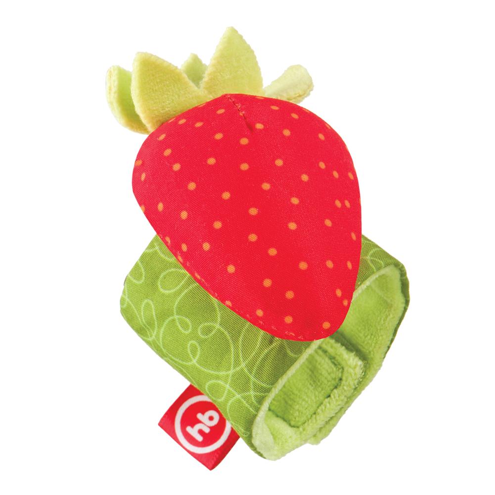 Фото - Погремушка Happy baby Juicy Strawberry браслет погремушка happy baby juicy strawberry