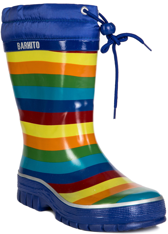 Купить Резиновые сапоги, KRS18203-2, Barkito, Китай, разноцветный, Мужской
