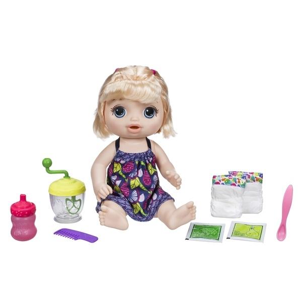 Купить Другие куклы, Малышка с игрушечным блендером, 32, 5 см, BABY ALIVE, Китай, разноцветный, Женский