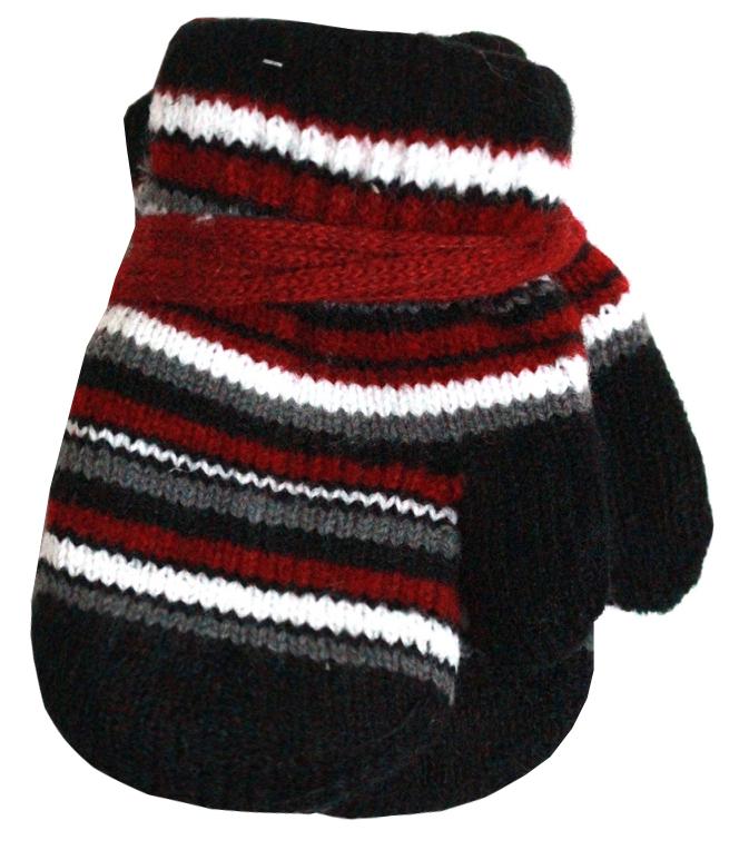 Варежки и перчатки Принчипесса Варежки для мальчика Принчипесса, черные ботинки для мальчика reima черные