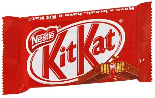Шоколад Nestle Kit Kat молочный с хрустящими вафлями, 45 гр.
