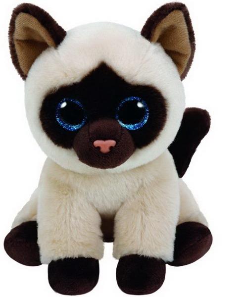 Мягкие игрушки TY Сиамская кошка Jaden игрушка мягкая кошка мурыся 3060 bt