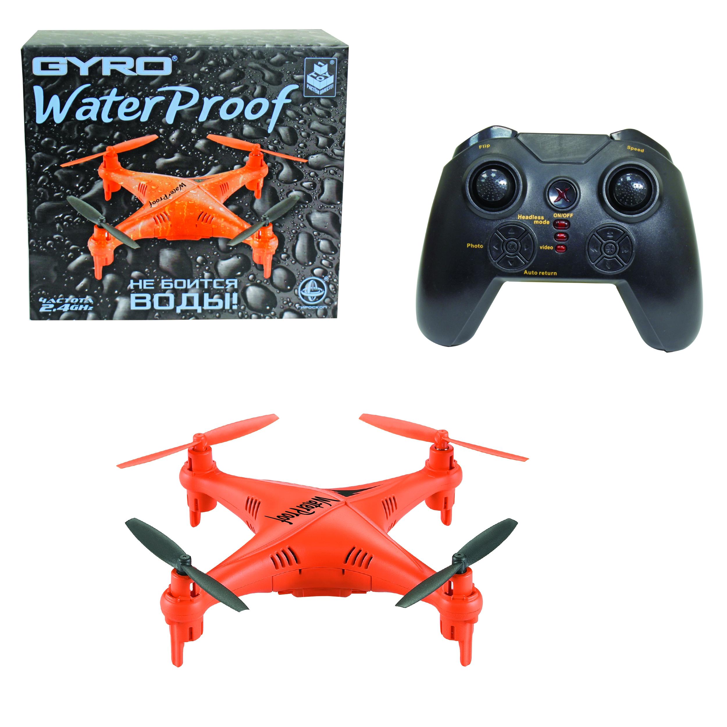 Квадрокоптеры 1toy GYRO-Waterproof квадрокоптер 1toy gyro explorer т58988