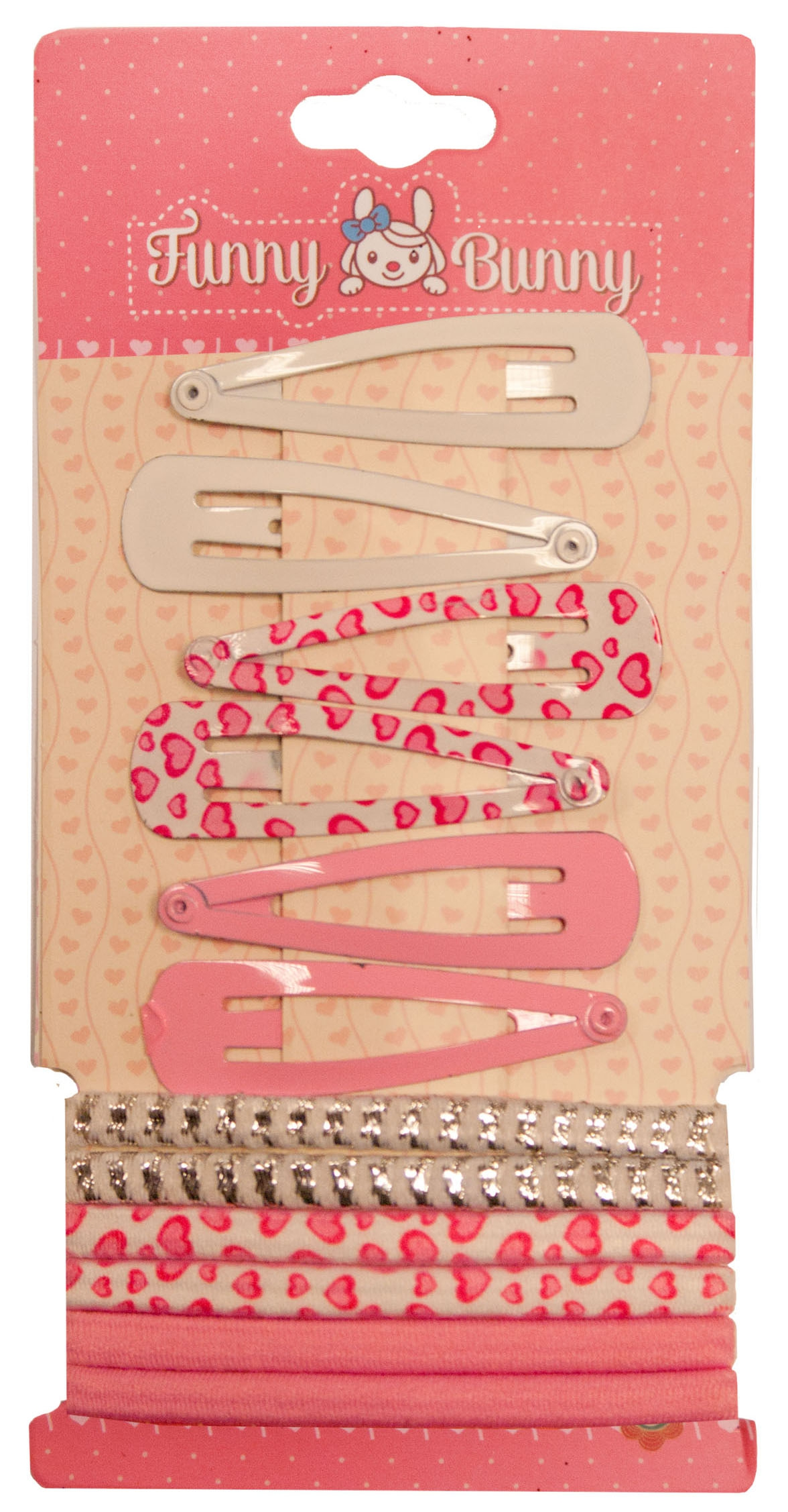 Набор для волос Funny Bunny для детей невидимка для волос funny bunny розовые цветы 2 шт