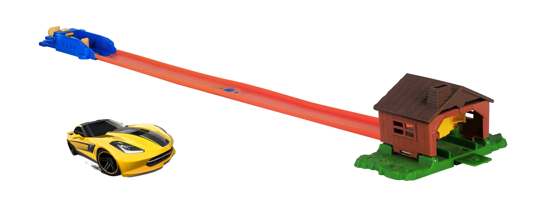 Игровой набор База игрушек Улетные гонки: Взрывной гараж игровой набор faro макси гараж 2 в 1 709