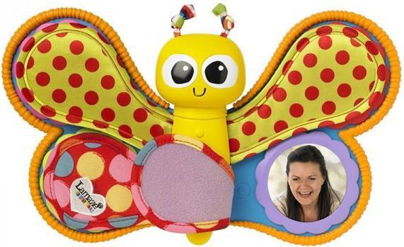 Развивающая игрушка LAMAZE Фотоальбом Смотри и слушай lamaze игрушка китенок фрэнки lamaze