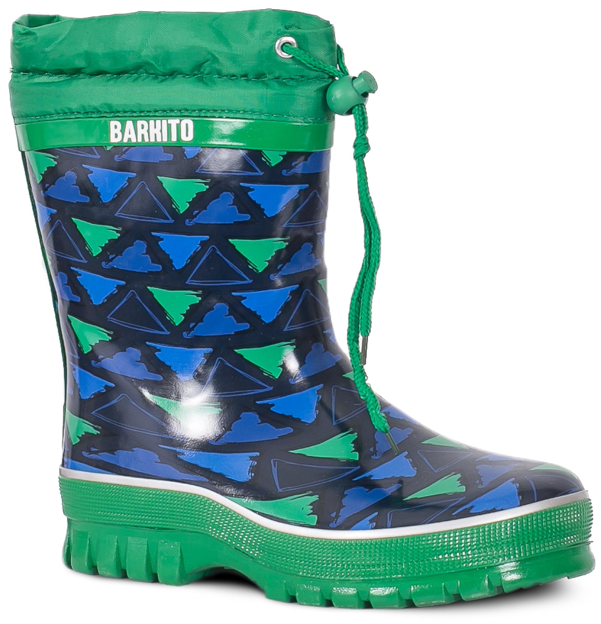 Резиновые сапоги для мальчика Barkito KRW18107 сапоги barkito fz007009