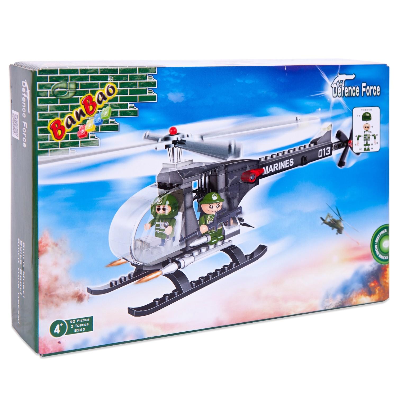 Конструкторы для малышей Banbao Военный вертолет transport phenomena in porous media iii