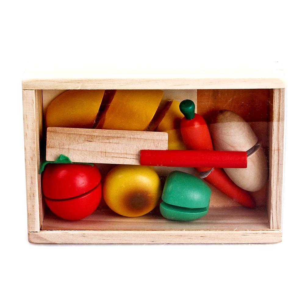 Деревянные игрушки Mapacha Маленький кулинар деревянные игрушки mapacha лабиринт маленький